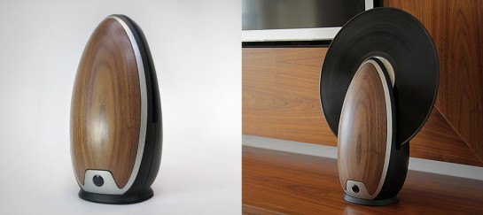 VERTICAL RECORD PLAYER | BY ROY HARPAZ