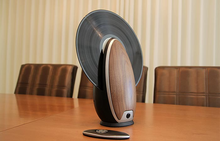 Vertical Record Player controls