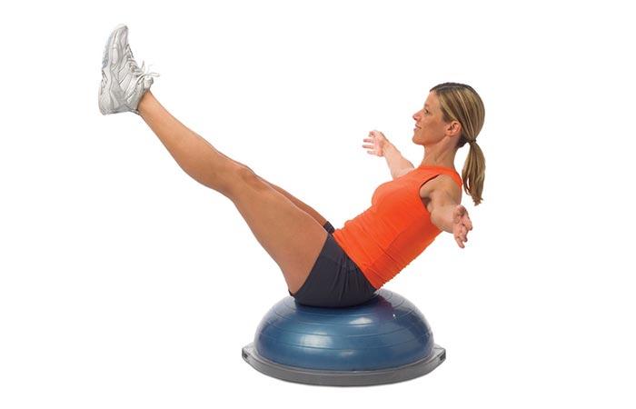 Bosu Balance Trainer types of exercise