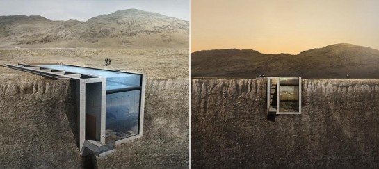 CASA BRUTALE HOUSE IN A CLIFF | BY OPA WORKS