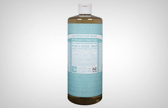 Castile Soap + Essential oils