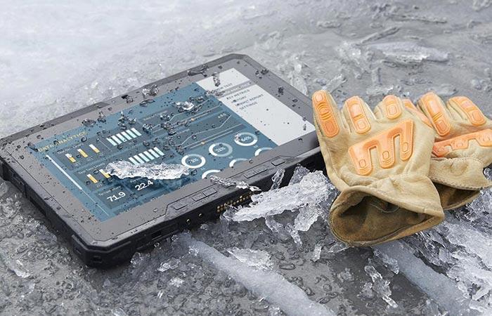 Latitude 12 Rugged Tablet durability