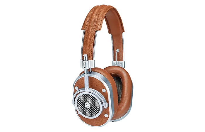 MH40 Headphones steel components