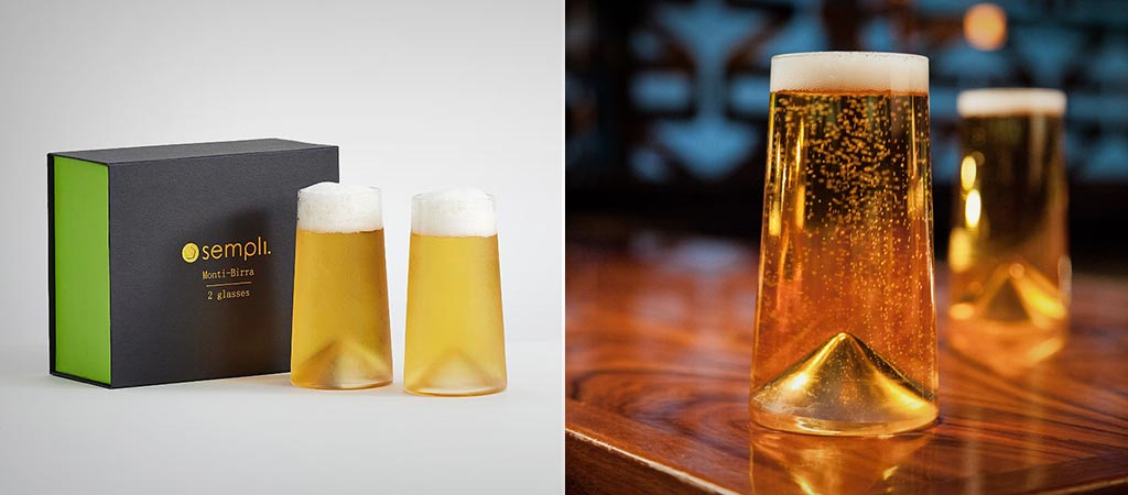 Monti-Birra Beer Glasses By Sempli