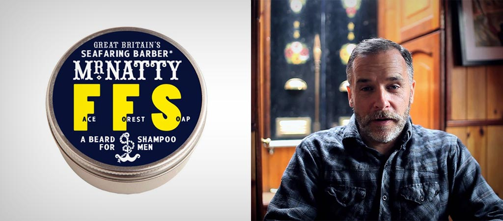 Mr. Natty's Face Forest Soap Beard Shampoo