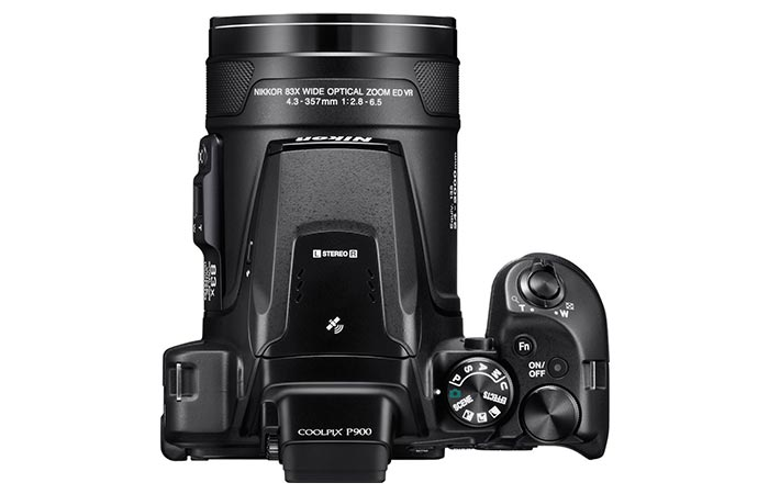 Nikon Coolpix P900 electronic viewfinder