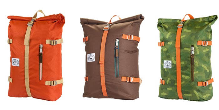 Colors of the Poler Men's Rolltop Pack