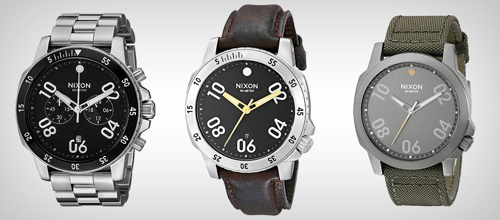 Ranger Line of Watches By Nixon