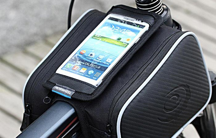 Roswheel Bicylce Dual Pouch phone pocket