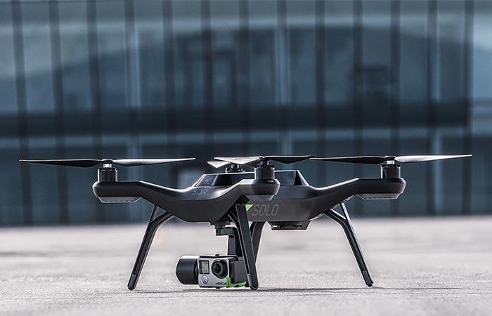 Solo Smart Drone smart shot features