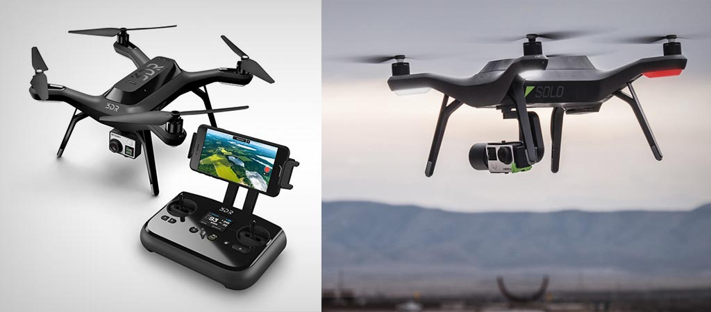 Solo Smart Drone By 3DR