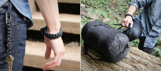 SURVIVAL FIRESTARTER PARACORD BRACELET | BY BOMBER & COMPANY