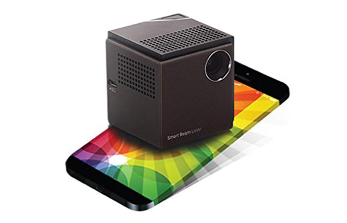 UO Smart Beam Laser Projector wireless connectivity