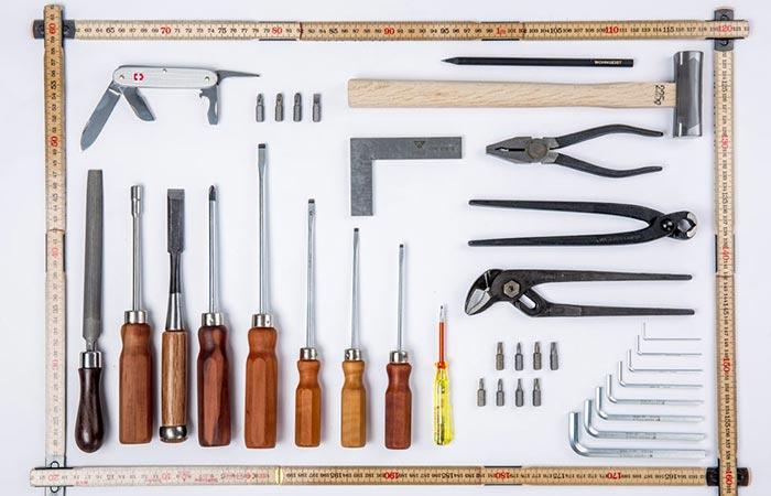 WohnGeist Tool Set tools