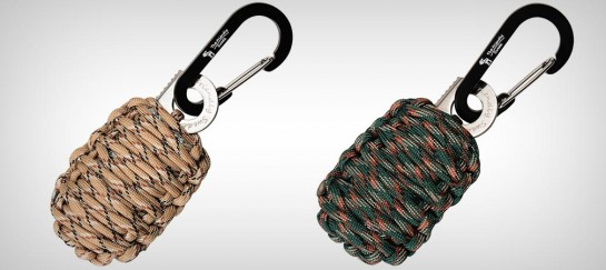 CARABINER 'GRENADE' SURVIVAL KIT WITH SHARP EYE KNIFE | BY THE FRIENDLY SWEDE