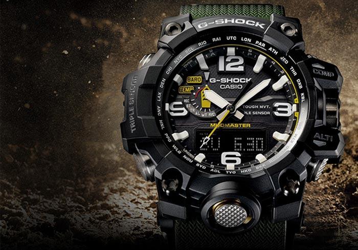 G-Shock Mudmaster rugged survival watch