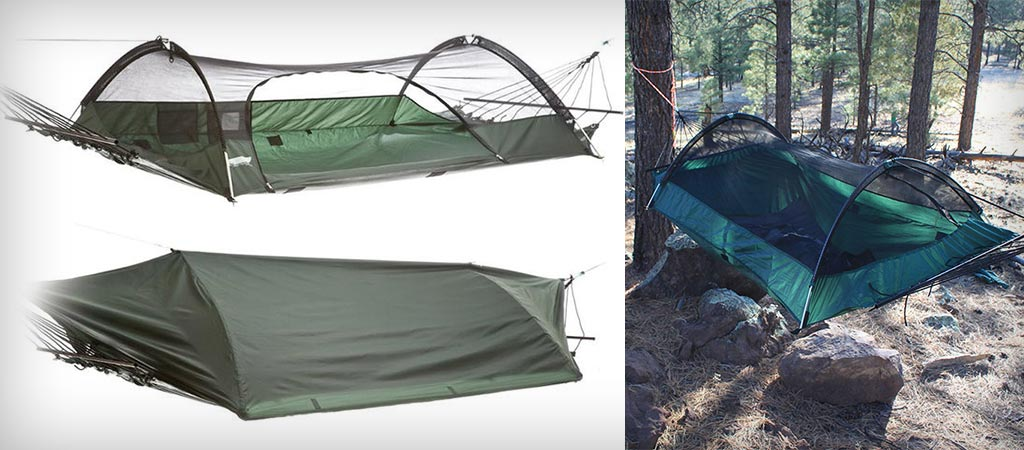Lawson Blue Ride Tent And Hammock In-One