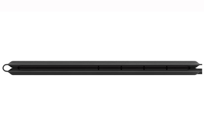 side view of the folded Microsoft universal foldable keyboard