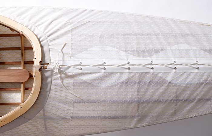 O Six Hundred Kayak carbon fiber skin