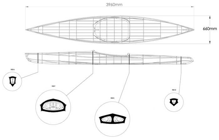 O Six Hundred Kayak weight and dimensions