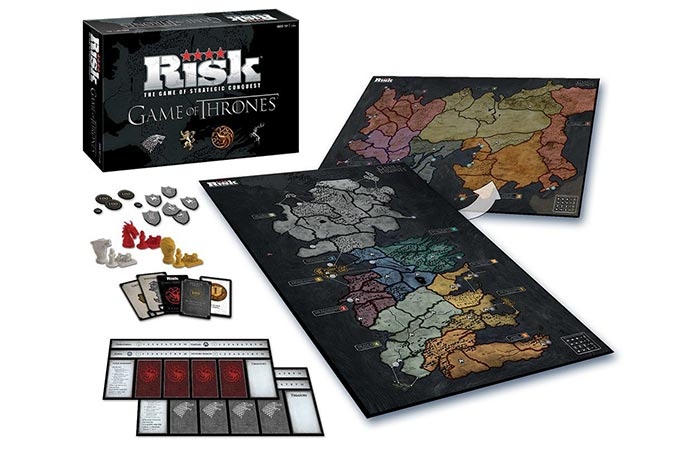 Risk: Game of Thrones Edition contents
