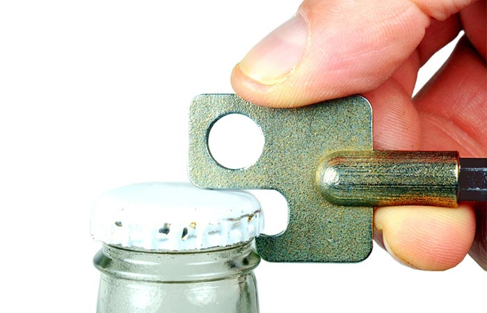 Screwdriver Mini +|- bottle opener
