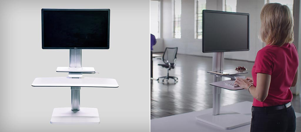 Sit2Stand Height Adjustable Workstation | By Uprite Ergo