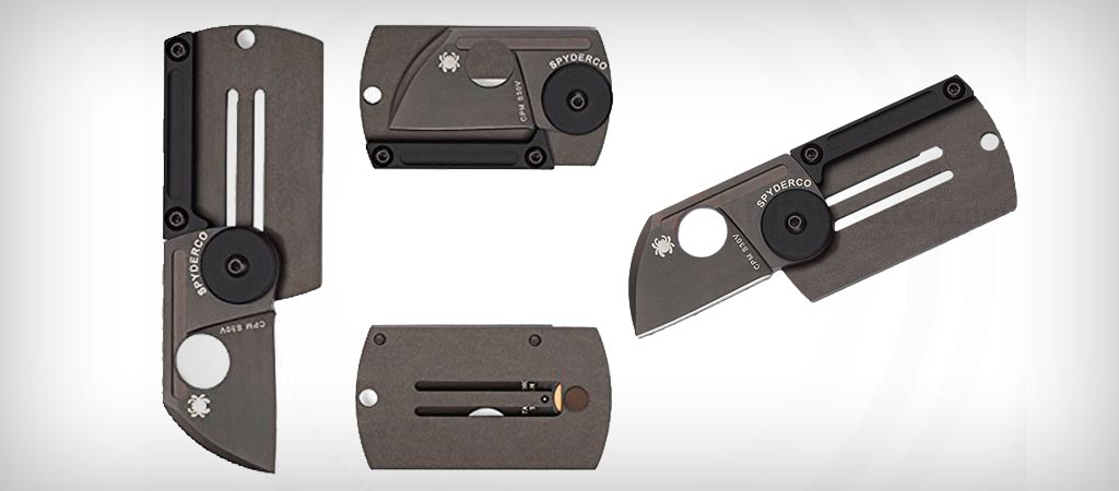 Spyderco Dog Tag folding knife