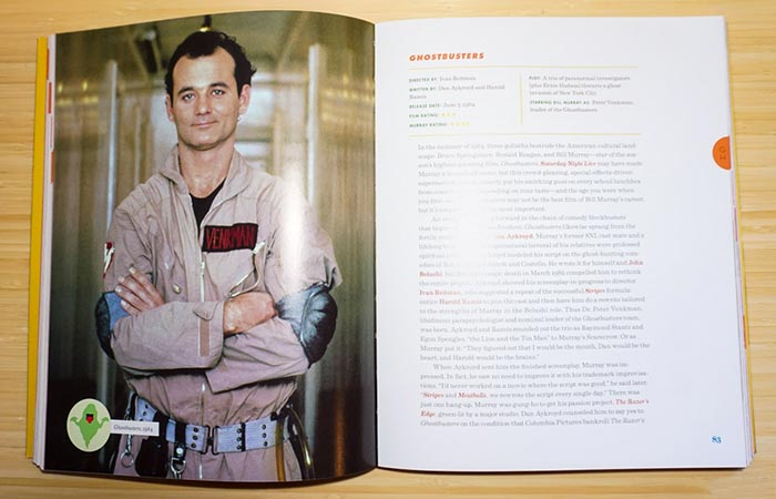 The Big Bad Book of Bill Murray contents