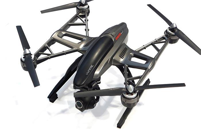 Yuneec Q500 4K Quadcopter flight capabilities