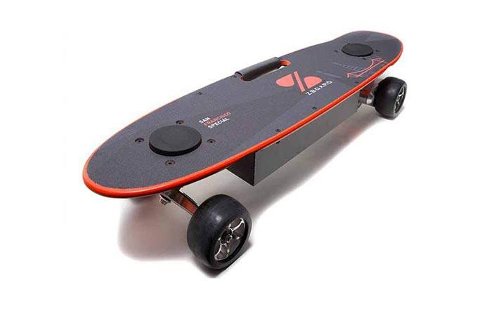 ZBoard San Francisco (SF) Special Skateboard