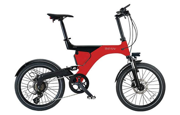 BESV PS1 Electric Bike color variations