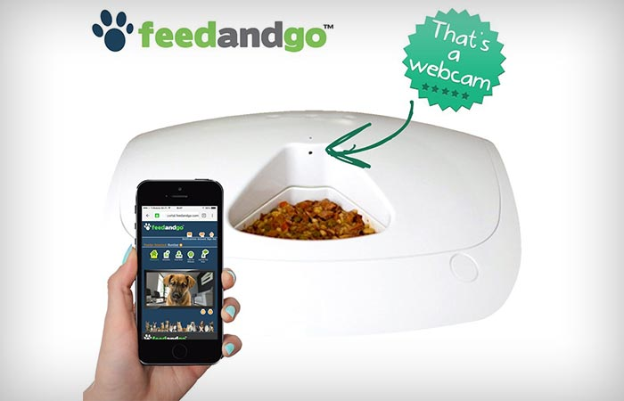 Feed and Go Wifi connectivity and webcam