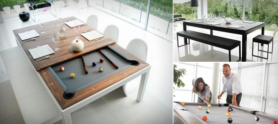 FUSION POOL AND DINING TABLE