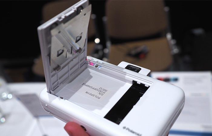 Polaroid Snap printing technology