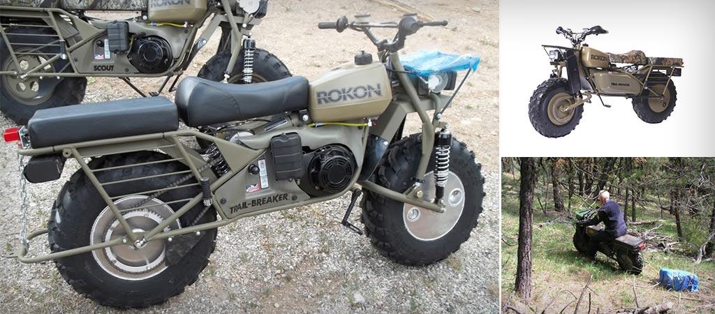 Rokon Mototractors For Hunters