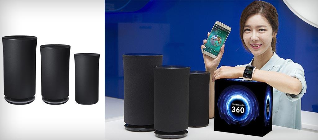 Samsung Wireless Audio 360 Speakers