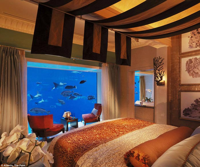 Atlantis The Palm Underwater suite