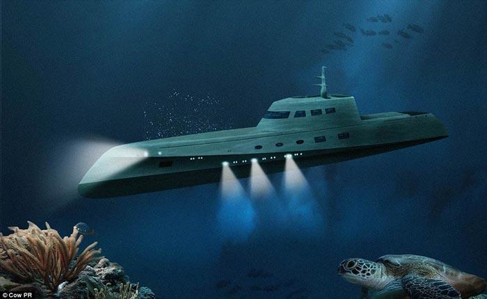 Lovers Deep submarine resort