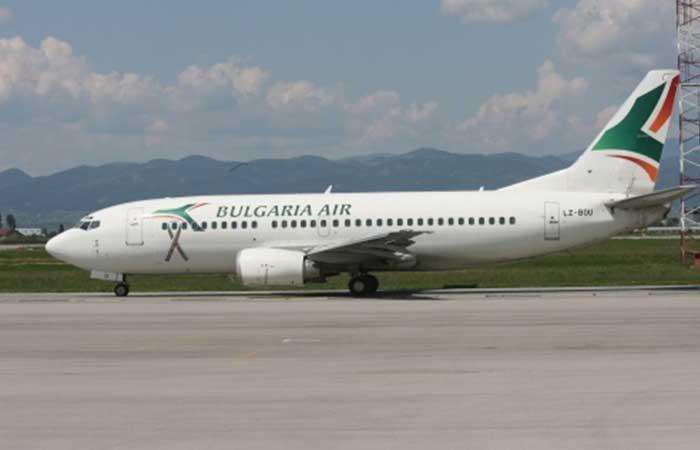 Bulgaria air airplane