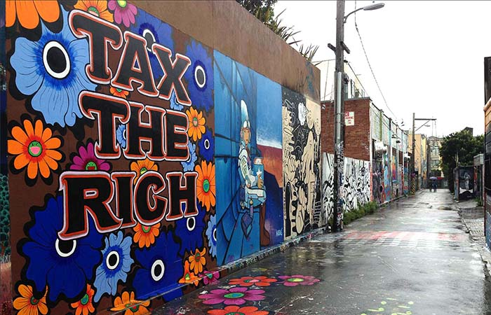 Clarion Alley murals tax the rich