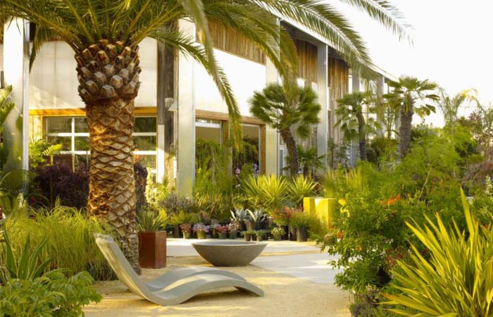 Entrance to Flora Grubb Gardens