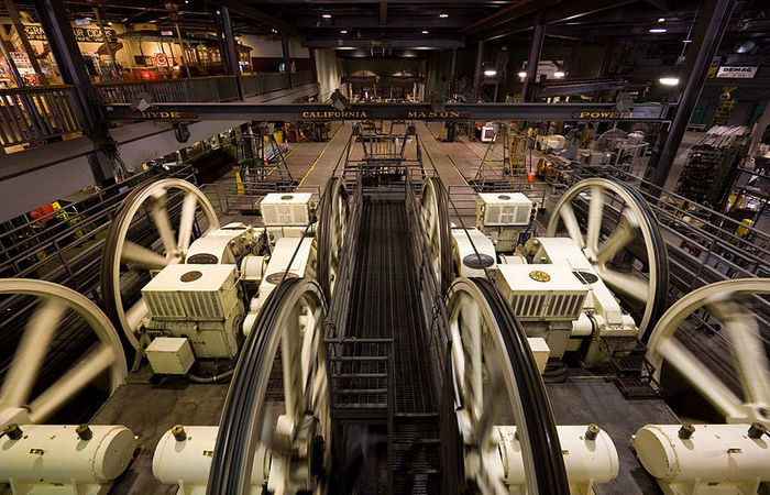 Cable Car Museum Inside