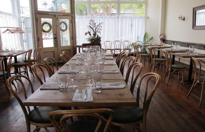 Heirloom Café Tables Inside