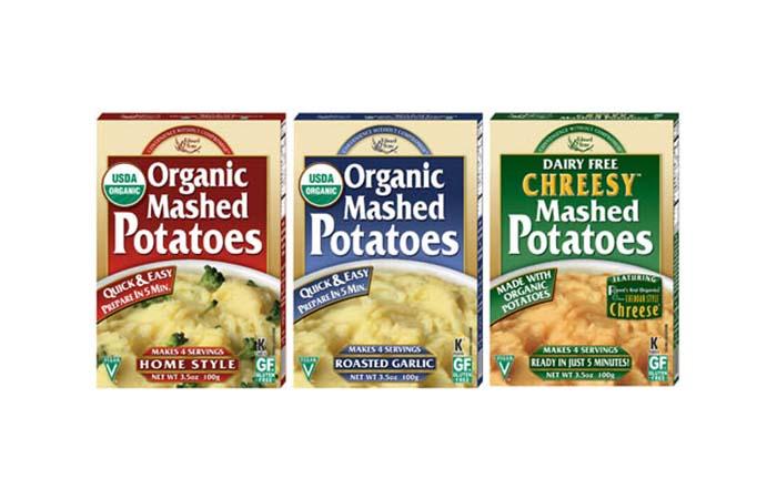Edward & Sons Organic Mashed Potato