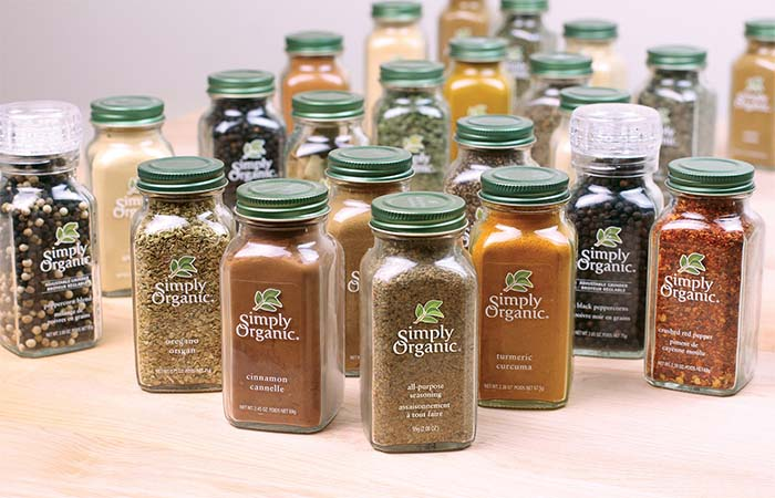 Simply Organic Herbs, Spices, and Seasonings
