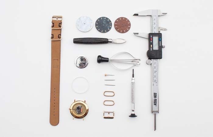 What is needed to make one watch.