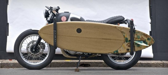 DEUS EX MACHINA RED PILL MOTORCYCLE