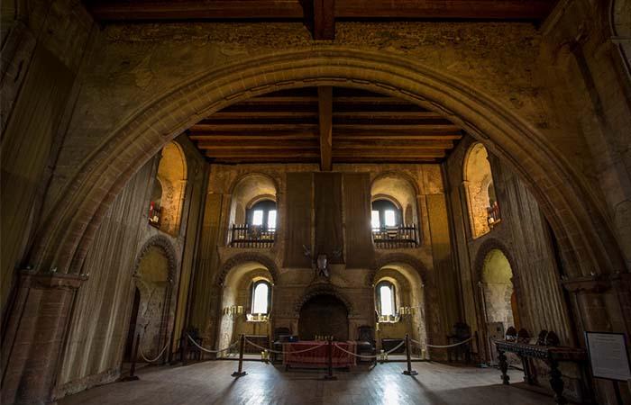 Hedingham Castle Inside