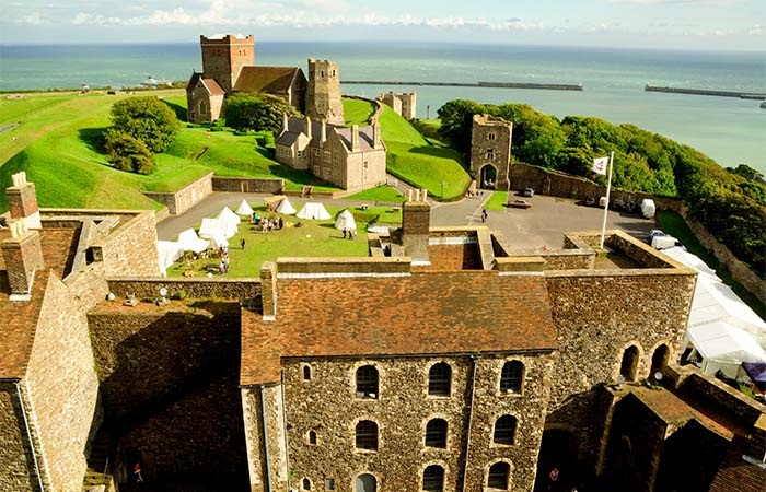 The view from the Dover Castle